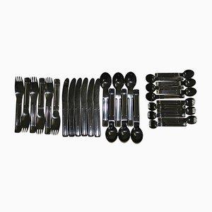 Set di posate Cutlery di Carl Aubock per Collini, anni '70, set di 30