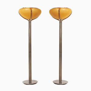Quadrifoglio Floor Lamp by Gae Aulenti for Guzzini, 1970s