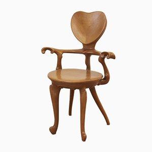 Calvet Stuhl von Antoni Gaudí für BD Barcelona, 1996