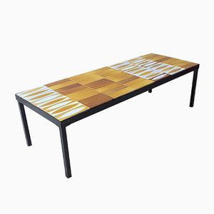 Vintage Ceramic Coffee Table by Roger Capron, 1960s