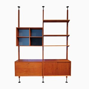 Vintage Wall Unit by Poul Cadovius for Cado, 1960s