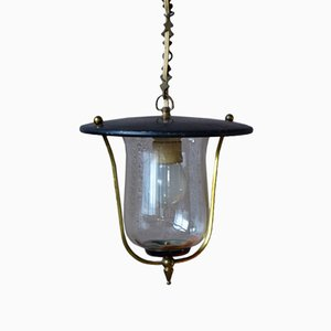 Lanterna a sospensione Mid-Century