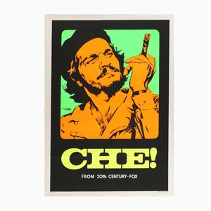Póster italiano de la película Che! vintage de Giuliano Nistri, 1969