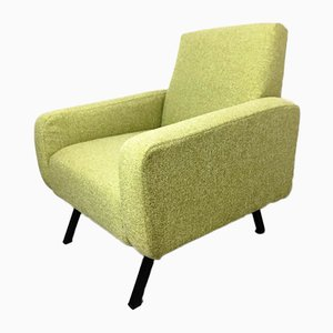 Vintage Green Armchair, 1960s