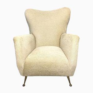 Wingback Armchair, 1950s