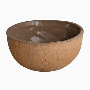 Wood Sand Soup Bowl from Kana London