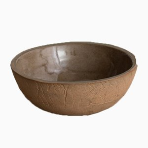 Wood Sand Pudding Bowl from Kana London