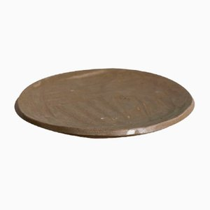 Wood Sand Medium Side Plate from Kana London