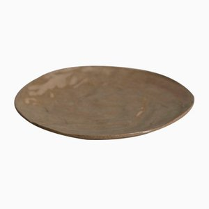 Wood Sand Cake Plate from Kana London