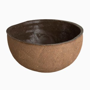 Dark Sand Soup Bowl from Kana London