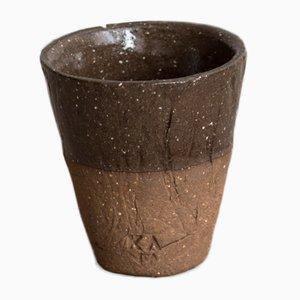 Tasse à Espresso en Grès Foncé de Kana London