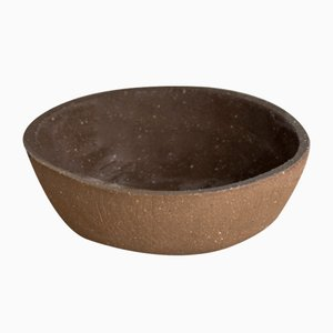 Dark Sand Pudding Bowl from Kana London