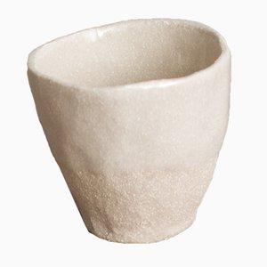 Taza de espresso By Hand White Sand de Kana London