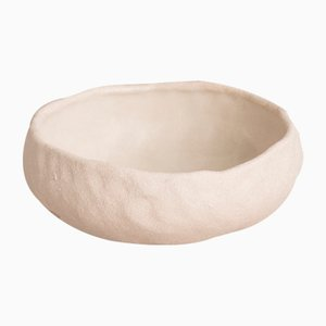 By Hand White Sand Porridge Bowl from Kana London