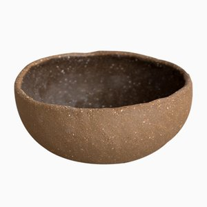 By Hand Dark Sand Porridge Bowl from Kana London