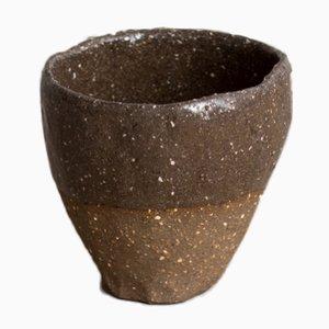 Taza de espresso By Hand Dark Sand Espresso Cup de Kana London