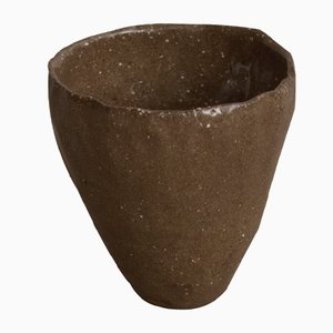 By Hand Dark Sand Cup from Kana London