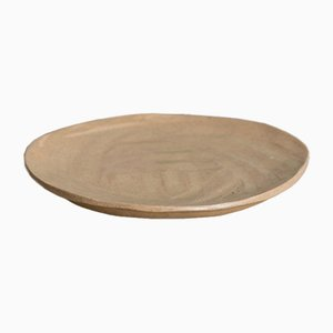 Gold Sand Cake Plate from Kana London