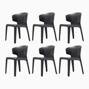 367 Hola Chairs by Hannes Wettstein for Cassina, 2003, Set of 6