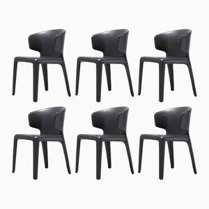 367 Hola Stühle von Hannes Wettstein für Cassina, 2003, 6er Set