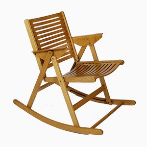 Rex Foldable Rocking Chair by Niko Kralj, 1970s