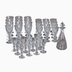 Juego de vasos y jarra vintage de Per Lütken & Des Asmussen para Holmegaard