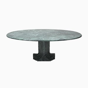Samo Green Marble Dining Table by Carlo Scarpa for Simon, 1970s