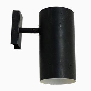 Applique vintage laccate nere di Lita, anni '50, set di 2