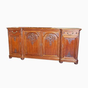 Vintage Regency Walnut Buffet