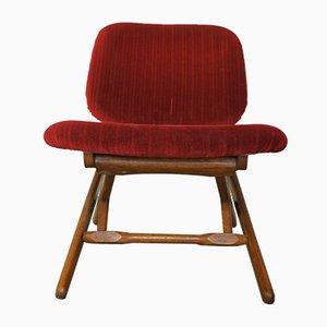 Chaise Basse Vintage Ajustable
