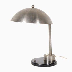 Schreibtischlampe aus Chrom von Daalderop, 1930er
