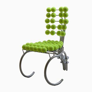 Vintage Sculptural Tennis Ball Wimbledon Chair, 1980s