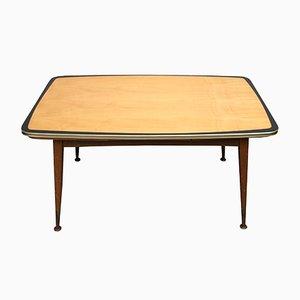 Tavolino da caffè regolabile in acero, anni '50