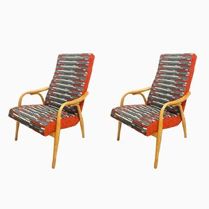 Armchairs by Antonin Suman for TON, 1960s, Set of 2