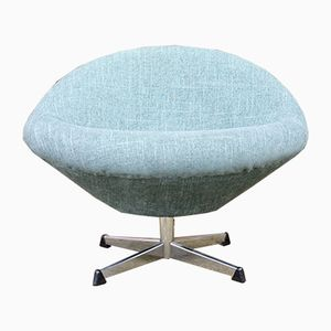 Mid-Century Modern Bucket Swivel Chair