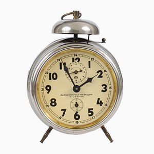 Vintage German Alarm Clock from Haller, 1920s