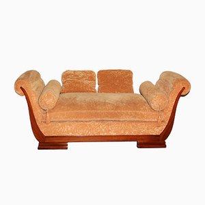 Sofá cama Art Déco de palisandro, años 20