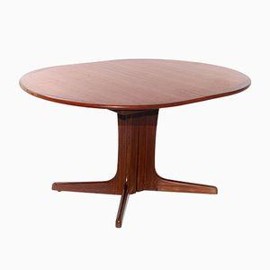 Vintage Teak Extendable Dining Table by Niels Otto Møller