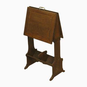 Antique Edwardian Mahogany Standing Rack
