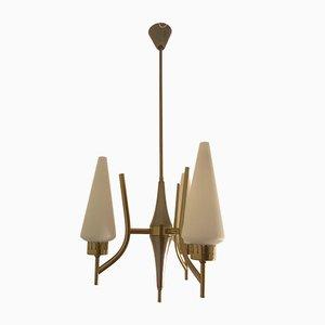 Lámpara colgante de Angelo Lelii para Arredoluce, años 50