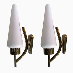 Sconces by Angelo Lelii for Arredoluce, 1950s, Set of 2