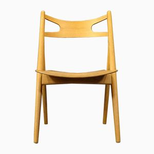Mid-Century CH29 Sawbuck Chair by Hans J. Wegner for Carl Hansen & Søn, 1950s