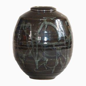 Vase Vintage en Céramique, France, 1970s