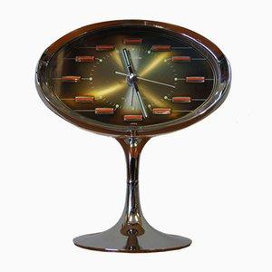 Mid-Century Space Age Japanese Alarm Clock from Rhythm