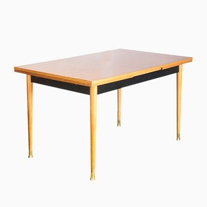 Mid-Century French Extendable Dining Table, 1960s