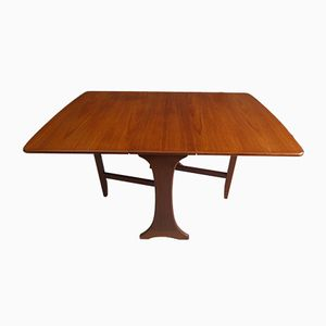 Vintage Teak Drop-Leaf Dining Table by Victor Wilkins for G-Plan