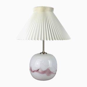Lámpara de mesa danesa Mid-Century de Michael Bang para Holmegaard, años 70