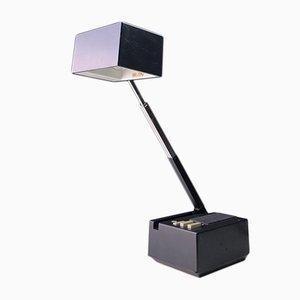 Lámpara de mesa danesa vintage de HBH, años 70