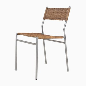 Vintage SE05 Rattan Dining Chair by Martin Visser for 't Spectrum