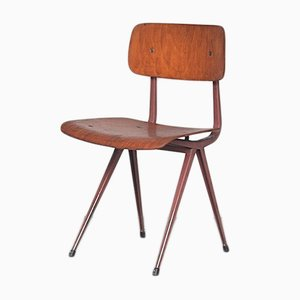 Vintage Result Dining Chair by Friso Kramer for Ahrend De Cirkel, 1960s